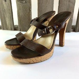 Michael Kors Vero Cucio  Platform Sandals 7 1/2